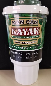 KAYAK LONG CUT WINTERGREEN MAN CAN