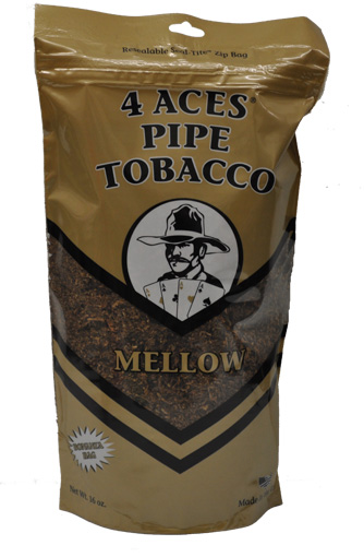 4 ACES MELLOW PIPE TOBACCO 16OZ BAG