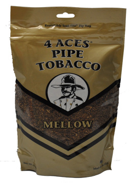 4 ACES MELLOW PIPE TOBACCO 6OZ BAG