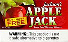 APPLE JACK CHEWING TOBACCO 12 COUNT B1G1