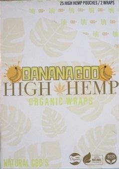 High Hemp CBD Organic wraps- BANANAGOO