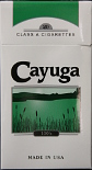 Cayuga Menthol Light 100 Box