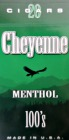 Cheyenne Filtered Cigars -Menthol 100 Box