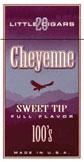 Cheyenne Filtered Cigars -Sweet Tip 100 Box