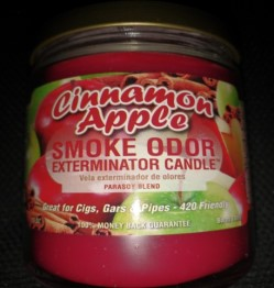 SMOKE ODOR EXTERMINATOR CANDLE 13OZ - CINNAMON APPLE
