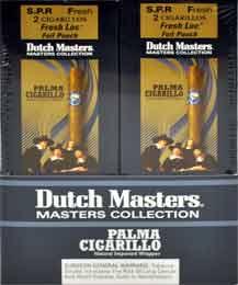 Dutch Master Palma Cigarillos - 20 Foil Pouches 2 Cigarillos Per Pouch