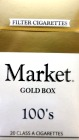 MARKET GOLD LIGHT 100 BOX