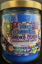 SMOKE ODOR EXTERMINATOR CANDLE 13OZ - NAG CHAMPA