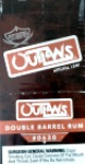 SWISHER SWEETS OUTLAWS DOUBLE BARREL RUM 10/3 PKS