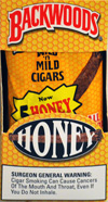 BACKWOODS HONEY (5 PACKS OF 8 CIGARS)