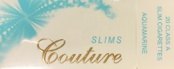 Couture Slim 100 Aquamarine Box