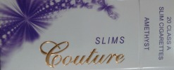 Couture Slim 100 Amethyst Box