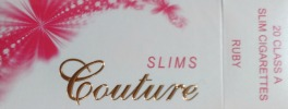 Couture Slim 100 Ruby Box