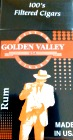 Golden Valley Filtered Little Cigars - Rum 100 Box