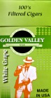 Golden Valley Filtered Little Cigars - White Grape 100 Box