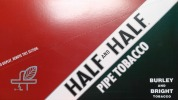 HALF AND HALF PIPE TOBACCO 12 1.5OZ PACKS