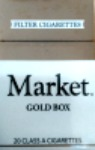 MARKET GOLD LIGHT KING BOX
