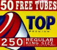 TOP CIGARETTE FILTER TUBES - 250CT