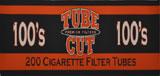 GAMBLER TUBE CUT CIGARETTE TUBES FULL FLAVOR 100 - 200CT BOX