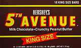 Hershey's 5th Avenue - King Size 18CT Box