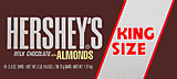 Hershey's Milk Chocolate with Almonds - King Size 18CT Box