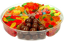 Kids Holiday Candy Tray
