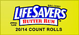 LifeSavers Butter Rum 20ct Box