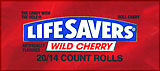 LifeSavers Wild Cherry 20ct Box