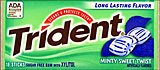 Trident Minty Sweet Twist 12Ct.