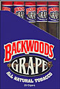 BACKWOODS GRAPE (25 TUBED CIGARS)