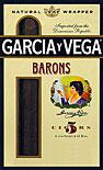 GARCIA Y VEGA BARONS 5 5/PKS