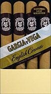 GARCIA Y VEGA ENGLISH CORONAS 5 4/PKS