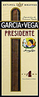 GARCIA Y VEGA PRESIDENTE 5 4/PKS