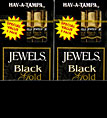 HAV A TAMPA JEWELS BLACK GOLD PROMOTIONAL 20/5 PKS