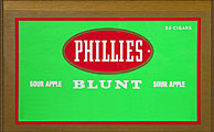 PHILLIES BLUNT SOUR APPLE 50CT/BOX