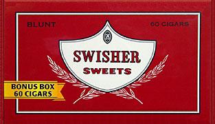 SWISHER SWEETS BLUNT 60CT BOX