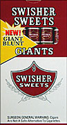 SWISHER SWEETS GIANT 10/5PKS