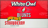 WHITE OWL BLUNTS - STRAWBERRY 50ct BOX 