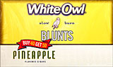 WHITE OWL BLUNTS - PINEAPPLE 50ct BOX 