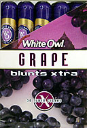 WHITE OWL BLUNTS XTRA - GRAPE - 30 TUBED CIGARS