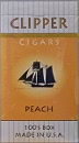 Clipper Peach 100 Filtered Little Cigar Box
