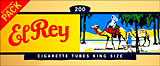 EL REY FILTER CIGARETTE TUBES - 200CT