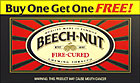BEECHNUT FIRE-CURED CHEWING TOBACCO 24COUNT PROMO