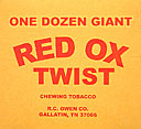 RED OX GIANT TWIST 12/CT