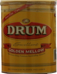 Drum Mellow Cigarette Tobacco 5oz Can