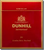 DUNHILL INTERNATIONAL FULL FLAVOR 100 BOX