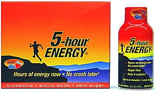 5 Hour Energy - Berry Flavor - 12/2FL oz Bottles