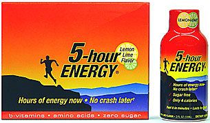 5 Hour Energy - Lemon Lime Flavor - 12/2FL oz Bottles