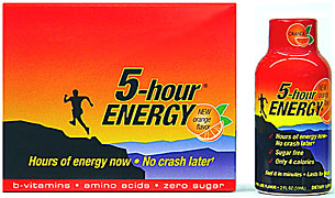 5 Hour Energy - Orange Flavor - 12/2FL oz Bottles