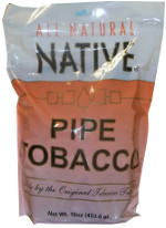 NATIVE PIPE TOBACCO - NATURAL 16OZ BAG